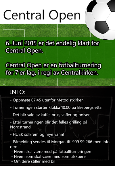 Central Open 2015