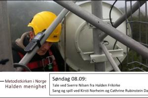 Sverre Nilsen taler på søndag!