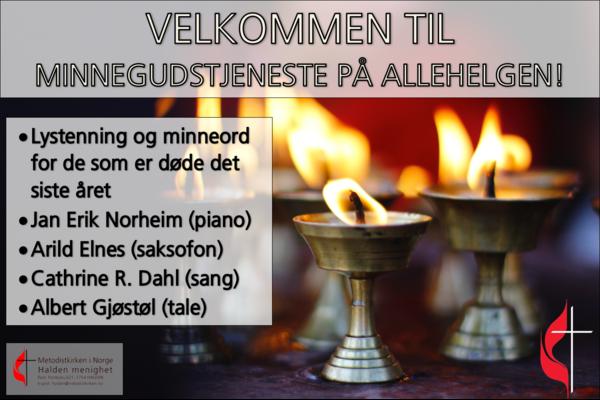 Allehelgenssøndag 03.11.19.
