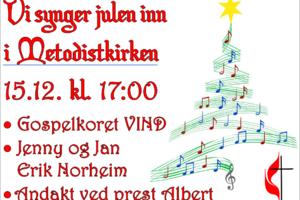 Vi synger julen inn 3. i advent