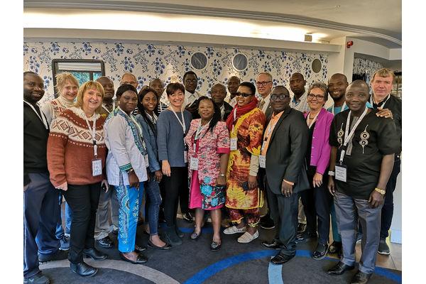 Ledlesen i Partnership in Development i Liberia, Sierra Leone og Zimbabwe, møtes sammen med styremedlemmer og staben vår på misjonskontoret på Linne hotell i Oslo denne uken.