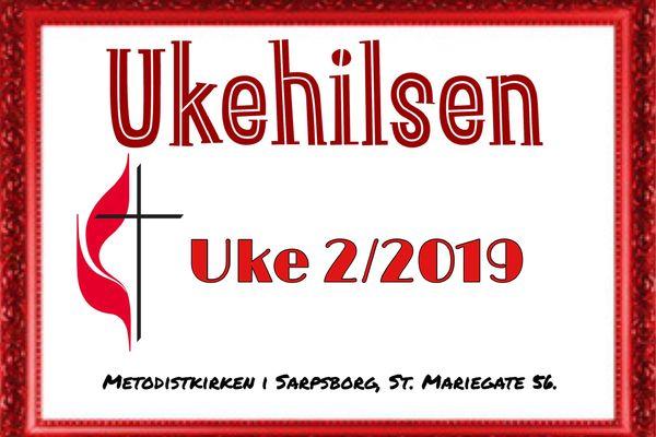 Ukehilsen uke 2/2019